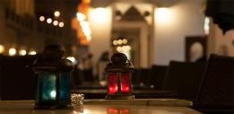 Doha kávéházi hangulat